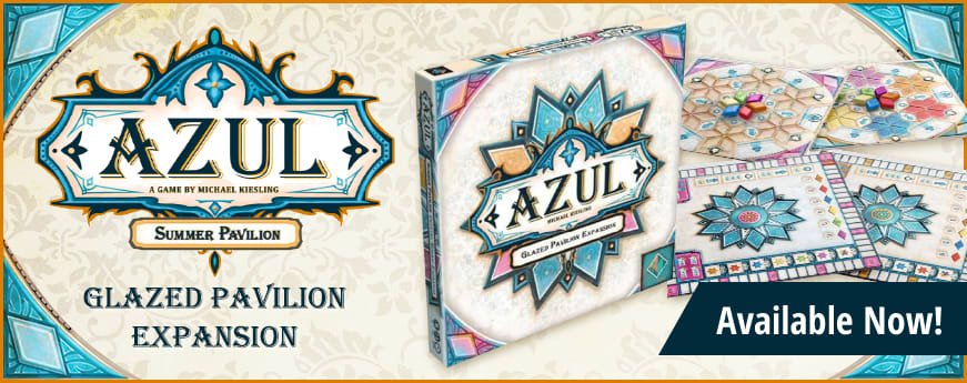 Azul Summer Pavilion: Glazed Pavilion expansion available now!