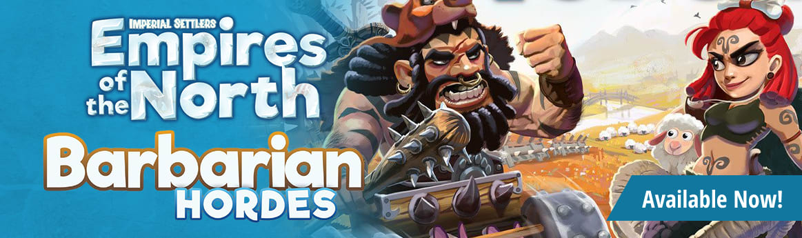 Imperial Settlers: Barbarian Horde Expansion available now!