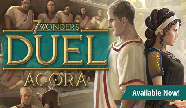 7 Wonders Duel: Agora Expansion available now!