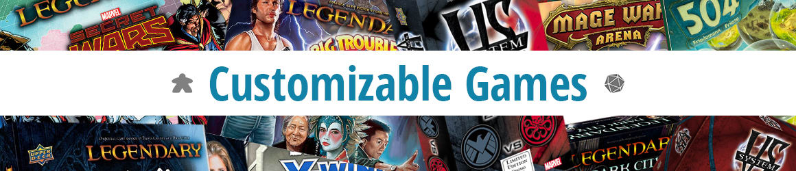 Board Games - Customizable Games