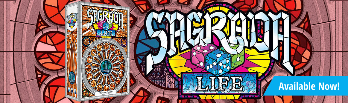 Sagrada: The Great Facades Life Expansion available now!