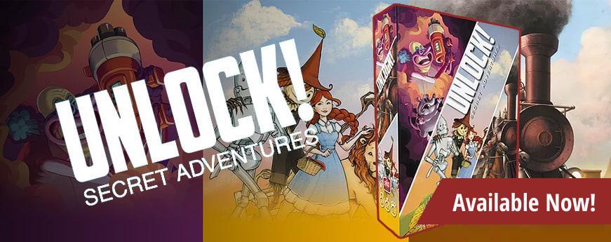 Unlock! Secret adventures available now!