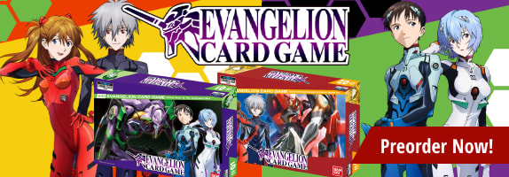 Preorder Evangelion Card Game today