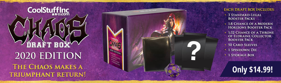 Chaos Draft Box 2020 available now