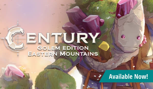 Century: Golem Edition - Eastern Mountains available now!