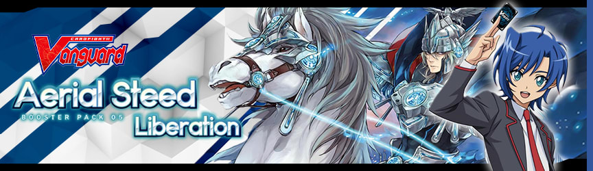 Cardfight Vanguard!! - Aerial Steed Liberation Booster Pack 05