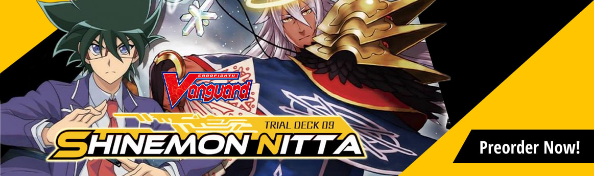 Preorder Trial Deck 09 Shinemon Nitta today