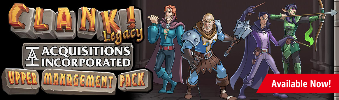 Clank! Legacy: Acquisitions Incorporated Upper Management Pack