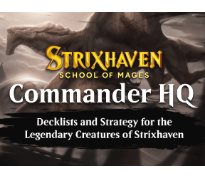 Decklists and Strategy for Magic's Legendary Creatures!