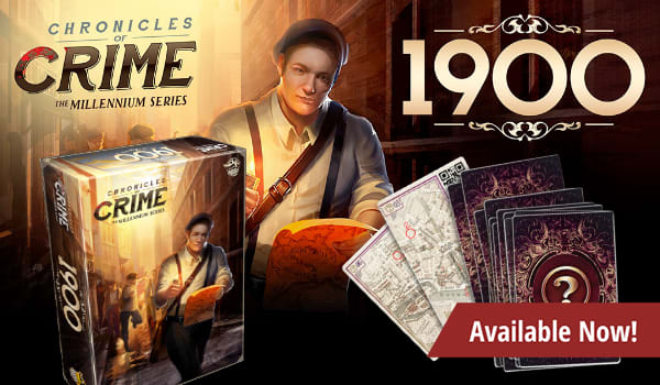 Chronicles of Crime: 1900 available now!