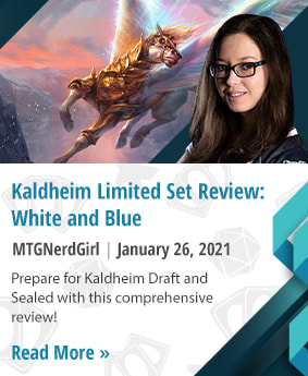 Kaldheim Limited Set Review: White and Blue by MTGNerdGirl