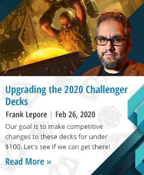 Upgrading the 2020 Challenger Decks by Frank Lepore