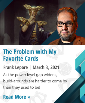 The Problem with My Favorite Cards by Frank Lepore