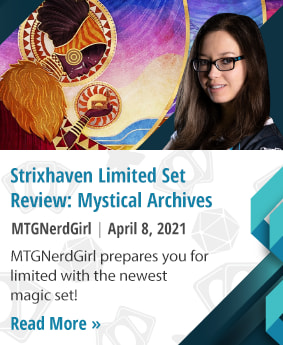 Strixhaven Limited Set Review: Mystical Archives by MTGNerdGirl