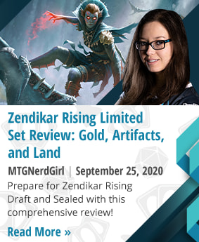 Zendikar Rising Limited Set Review: Gold, Artifacts, and Land by MTGNerdGirl