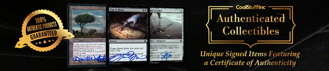 CoolStuffInc.com Authenticated Collectibles - Magic: The Gathering