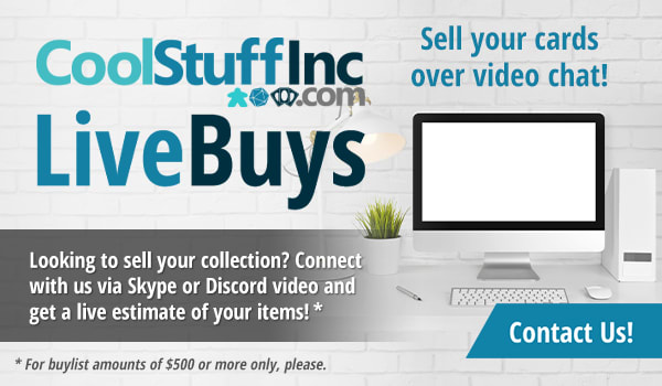 CoolStuffInc.com LiveBuys: Sell Your Cards on Video Chat!