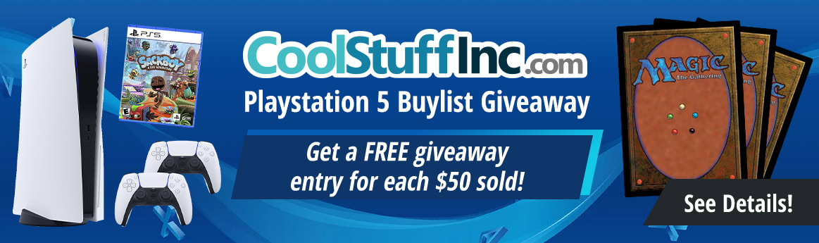 CoolstuffInc.com PlayStation 5 Buylist Giveaway