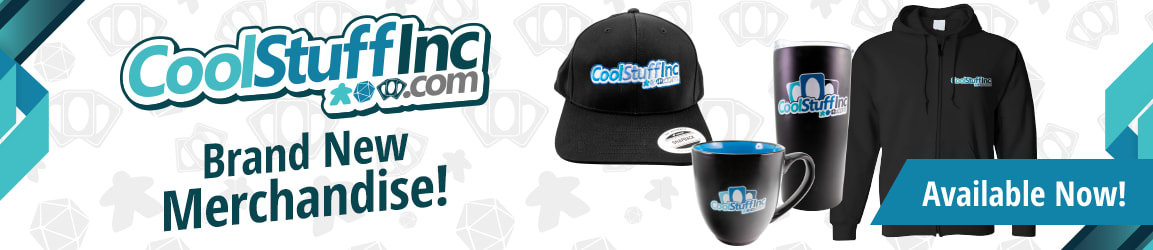 Brand New CoolStuffInc.com Merchandise available now