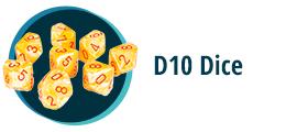 D10 Dice