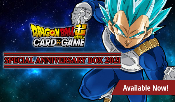 Dragon Ball Super Special Anniversary Box 2021 available now!