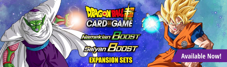 Dragon Ball Super Namekian Boost and Saiyan boost available now!