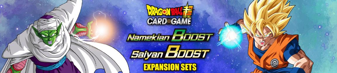 Dragon Ball Super - Namekian Boost and Saiyan Boost Expansion Sets