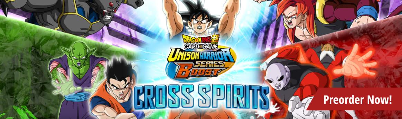Preorder Dragon Ball Super Cross Spirits today!
