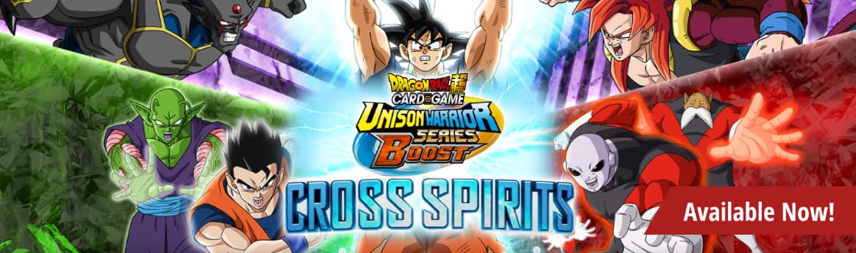 Dragon Ball Super Cross Spirits available now!