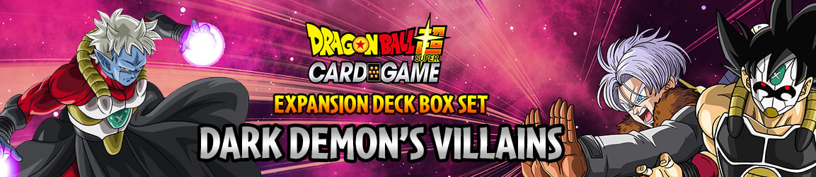 Dragon Ball Super - Expansion Deck Box Dark Demon's Villains