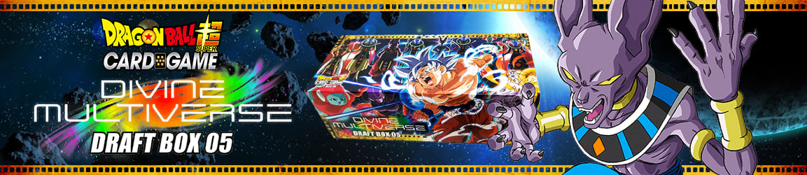Dragon Ball Super - Draft Box 05 Divine Multiverse