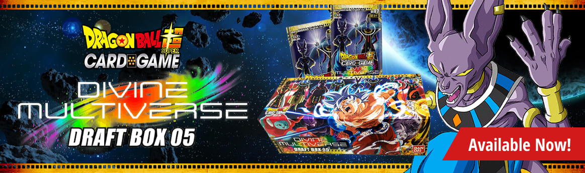 Draft Box 5 Divine Multiverse available now