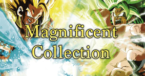 Magnificent Collections: Broly and Gogeta available now
