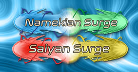 Namekians and Saiyans Surge Available now