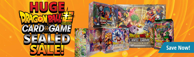 Dragon Ball Super Sealed Sale