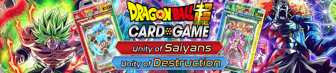 Dragon Ball Super -  Expansion Set Unity of Saiyans and Destruction