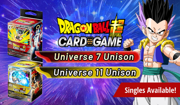 Expansion Sets Universe 7 Unison and Universe 11 Unison Available Now