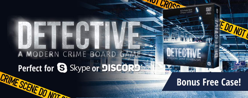 Detective by Portal Games available now