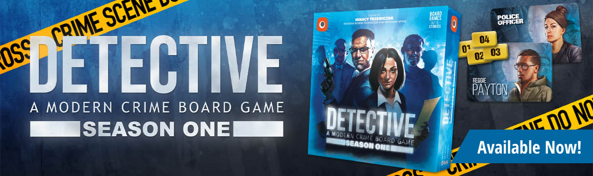 Detective Season One available now!