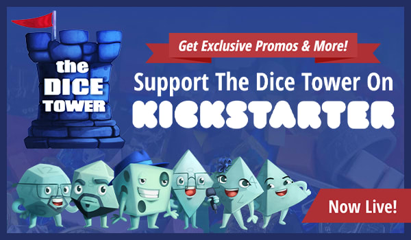 The Dice Tower 2019 Kickstarter Now Live!