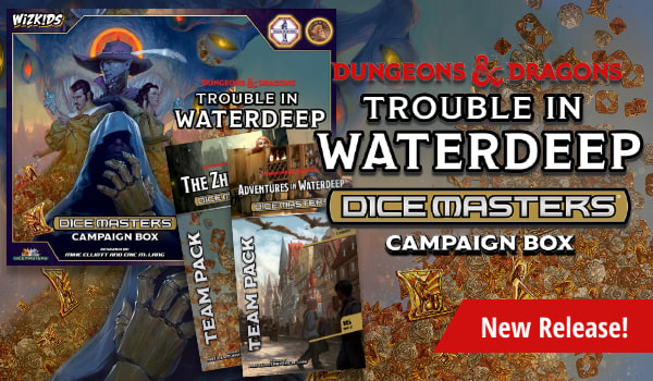Dungeons and Dragons Dice Masters available now