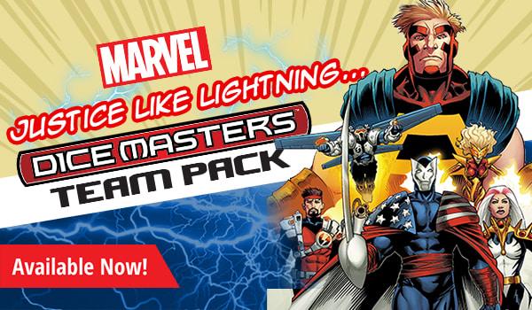 Justice Like Lightning Team Pack