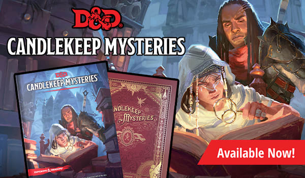 Candlekeep Mysteries Available Now!