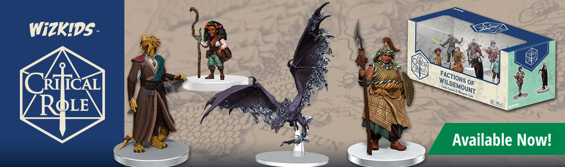 Critical Role Miniatures available now!
