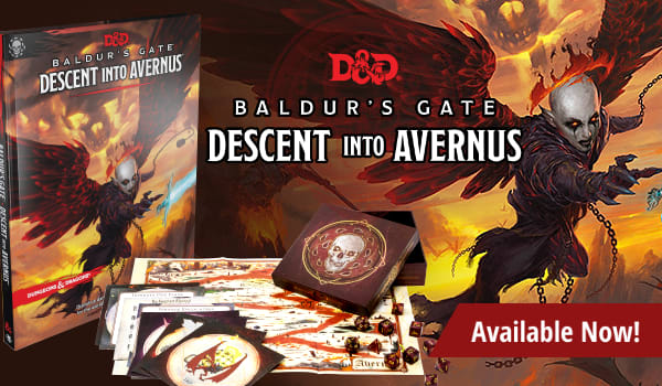 Dungeons and Dragons: Baldur's Gate Descent into Avernus available now