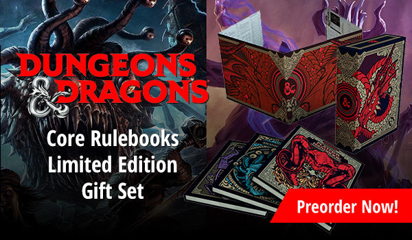 Dungeons and Dragons: Core Rulebooks Limited Edition Gift Set