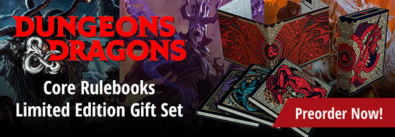 Dungeons and Dragons Core Rulebooks Limited Edition Gift Set