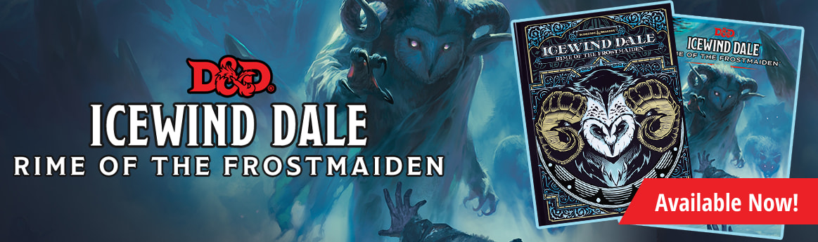 Dungeons & Dragons: Icewind Dale - Rime of the Frost Maiden available now