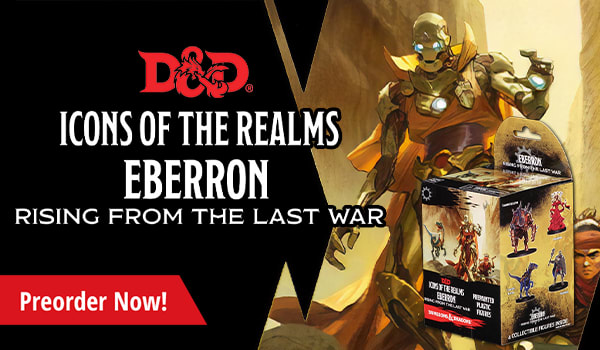 Preorder Dungeons and Dragons Icons of the Realms Eberron Rising From the Last War today