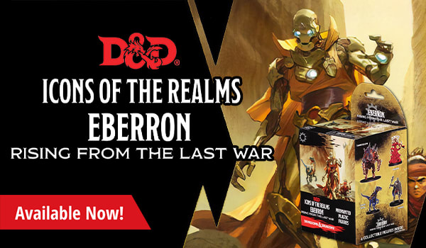 Dungeons and Dragons Icons of the Realms Eberron Rising From the Last War available now